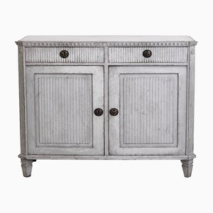 19th-Century Gustavian Carved Buffet