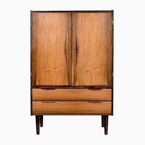 Mid-Century Danish Modern Rosewood Bar Cabinet
