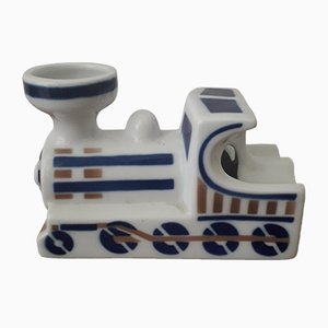 Spanish Porcelain Ashtrays from Sargadelos, 1980s, Set of 2
