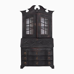 Antique Scandinavian 2-Part Secretaire, 1760s