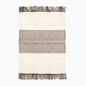 Handgewebter Vintage Teppich aus Wolle