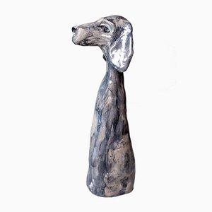 Escultura de perro Vorsteh de Johanna Nestor para Nestor Designs