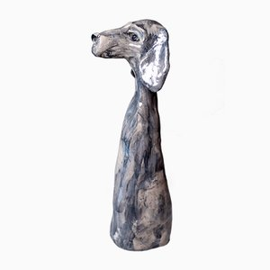 Skulptur eines Vorstehhundes von Johanna Nestor für Nestor Designs