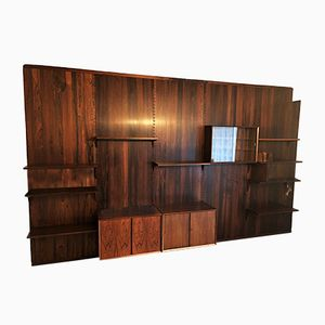 Rosewood Modular Shelf System by Poul Cadovius for Cado, 1950s