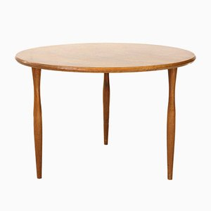 Round Vintage Coffee Table from Wilhelm Renz