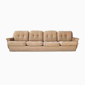 4-Sitzer Couch aus Cord, 1970er