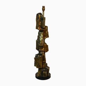 Lampada da tavolo scultorea di Maurizio Tempestini, anni '70