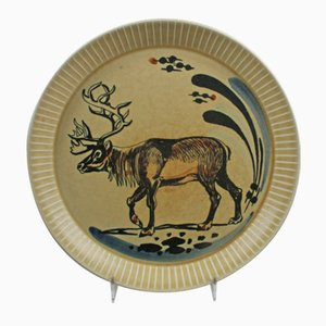 Assiette en Porcelaine par Inger Waage pour Stavangerflint, 1960s