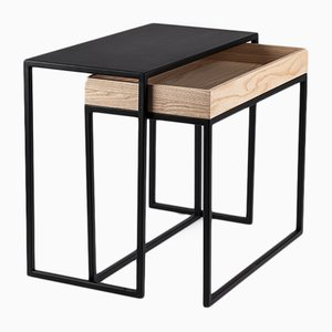 Black AMBROGIO Coffee Table by Paula Studio for Formae
