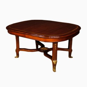 French Mahogany Extendable Table, 1920s