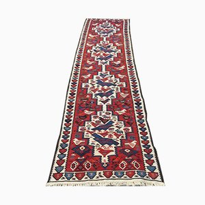Vintage Turkish Wool Kilim Runner