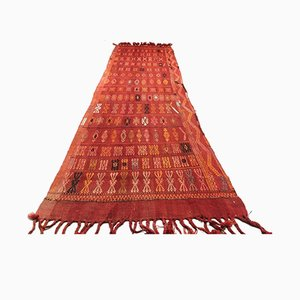 Long Vintage Turkish Kilim Runner, 1950s