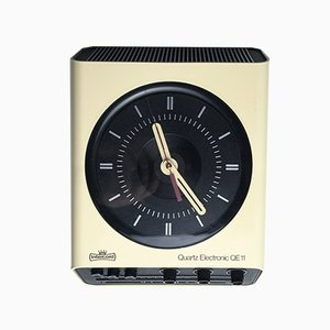 Vintage German Radio Clock from Intercord, 1970s