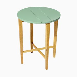 Kale Ta-bl Folding Side Table in Oak from Modernico