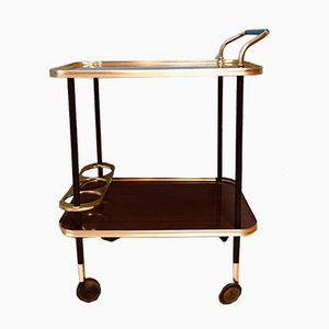 Mid-Century Italian Serving Bar Cart