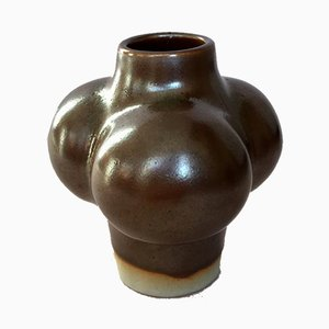 Vintage Danish Ceramic Vase by Tue Poulsen for Knabstrup, 1970s
