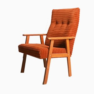 Mid-Century Danish High Back Chair, 1960s