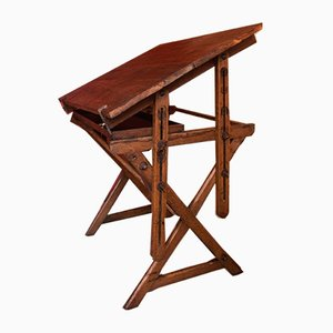Antique British Drawing Table