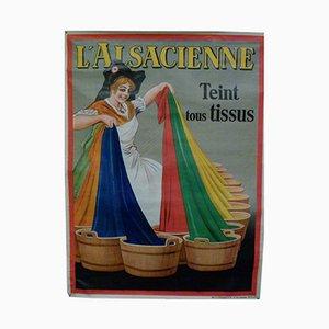 Belgisches L'Alsacienne Poster von Dorfi, 1930er