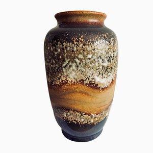Getöpferte Mid-Century Fat Lava Vase von Dumler & Breiden