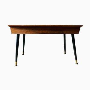 Table Basse et Couverts de Table en Teck par Gerald Benney pour Viners, 1960s