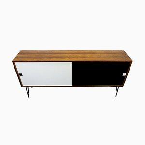 Black & White Rosewood Sideboard, 1960s