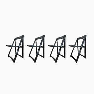 Chaises Pliantes par Aldo Jacober pour Alberto Bazzani, 1960s, Set de 4