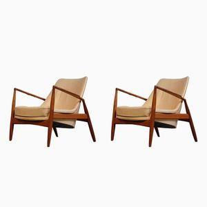Sälen Chairs by Ib Kofod-Larsen for OPE Möbler, 1964, Set of 2