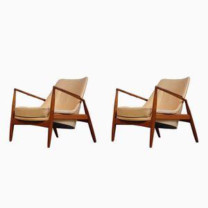 Sälen Stühle von Ib Kofod-Larsen für OPE Möbler, 1964, 2er Set
