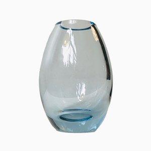 Moderne dänische Hellas Vase in Tropfenform von Per Lütken für Holmegaard, 1950er