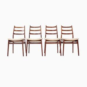Mid-Century Esszimmerstühle von Habeo, 4er Set