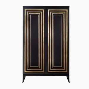 TULLIA Armoire with Curved Legs by Isabella Costantini