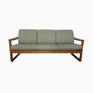 Vintage Three-Seater Teak Sofa from CFC Silkeborg, 1960s