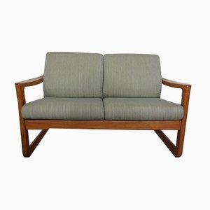 2-Sitzer Sofa mit Gestell aus Teak von CFC Silkeborg, 1960er
