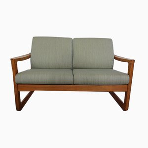 Vintage Two-Seater Teak Sofa from CFC Silkeborg, 1960s