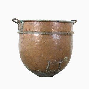 Pot à Caramel Antique en Cuivre, 1900s