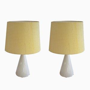 Lámparas de mesa suecas de Luxus, años 70. Juego de 2