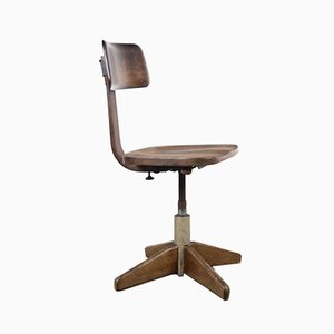 Silla Bauhaus de Albert Stoll para Der Federdreh, años 40