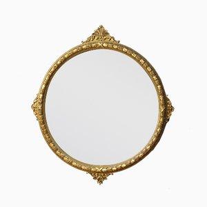 Runder italienischer Vintage Spiegel