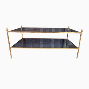 Gilt Bronze Coffee Table from Maison Baguès, 1970s