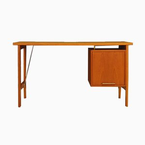 Vintage Danish Teak Desk from Bjerringbro, 1970s