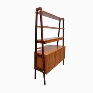 Swedish Room Divider or Shelving Unit, 1950s