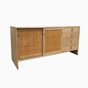 Vintage Danish RY-100 Sideboard by Hans Wegner for Ry Mobler, 1960s