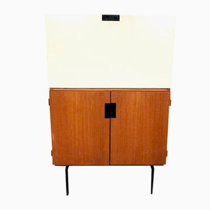 Vintage Dutch CU07 Secretary Cabinet by Cees Braakman for Pastoe, 1950s