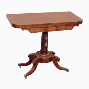 Regency Mahogany Card Table, 1820s