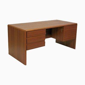 Dänischer Schreibtisch aus Teak von Bent Silberg, 1980er