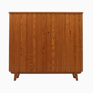 Vintage Swedish Pine Cabinet by Göran Malmvall for Svensk Fur