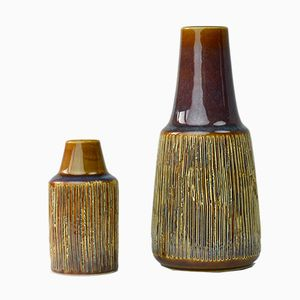 Manilla vases by Svend Aage Jensen for Söholm, 1964