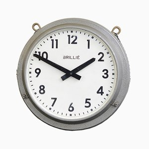 Double Sided Station Clock from Brille, 1940s