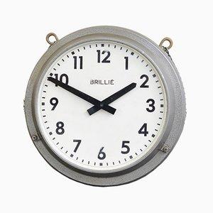 Orologio da stazione double face di Brille, anni '40